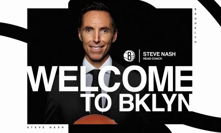Steve Nash Brooklyn Nets 3 septembre 2020