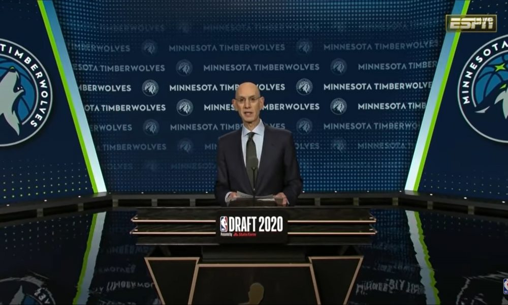 Adam Silver NBA Draft 2020 19 novembre 2020