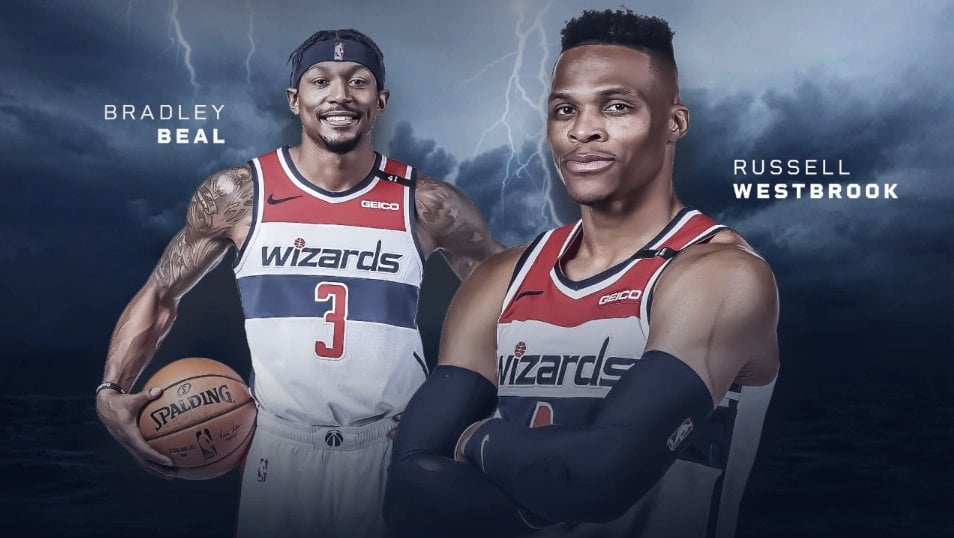 Russell Westbrook Bradley Beal 24 décembre 2020