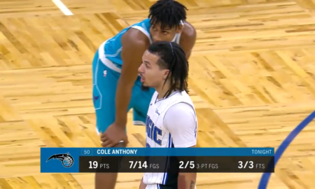 Cole Anthony 20 décembre 2020 Magic Orlando
