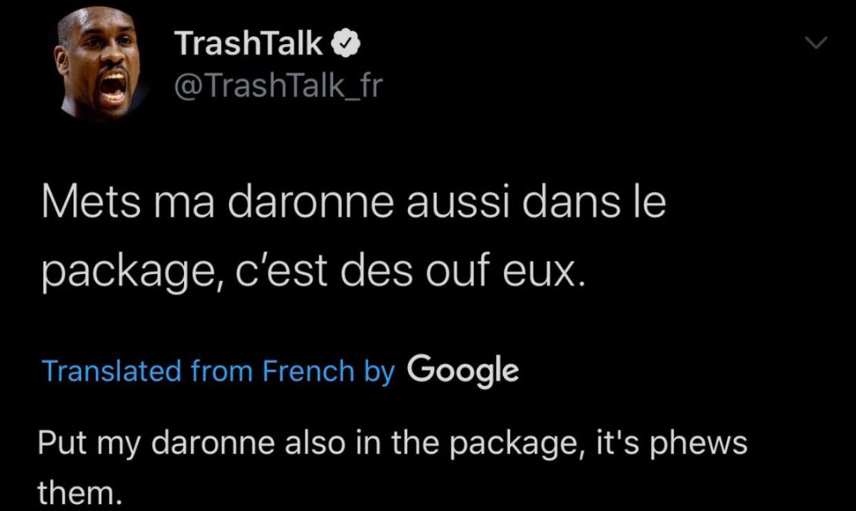 daronne in the package