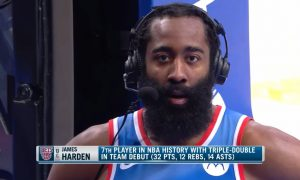 James Harden 17 janvier 2021