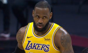 LeBron James 26 janvier 2021