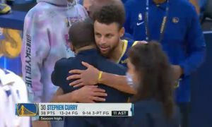 Stephen Curry 9 janvier 2021
