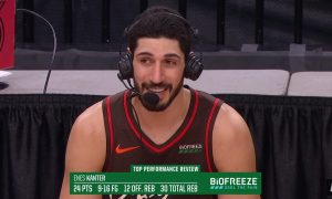 Enes Kanter 11 avril 2021