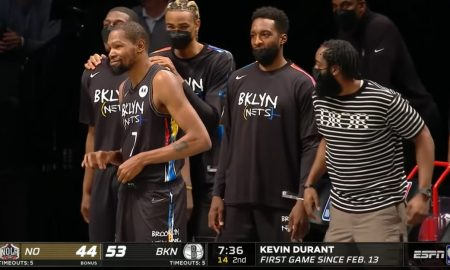 Kevin Durant 8 avril 2021