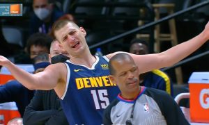 Nikola Jokic Nuggets vs Boston Celtics 11 avril 2021