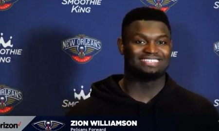 Zion Williamson 10 avril 2021