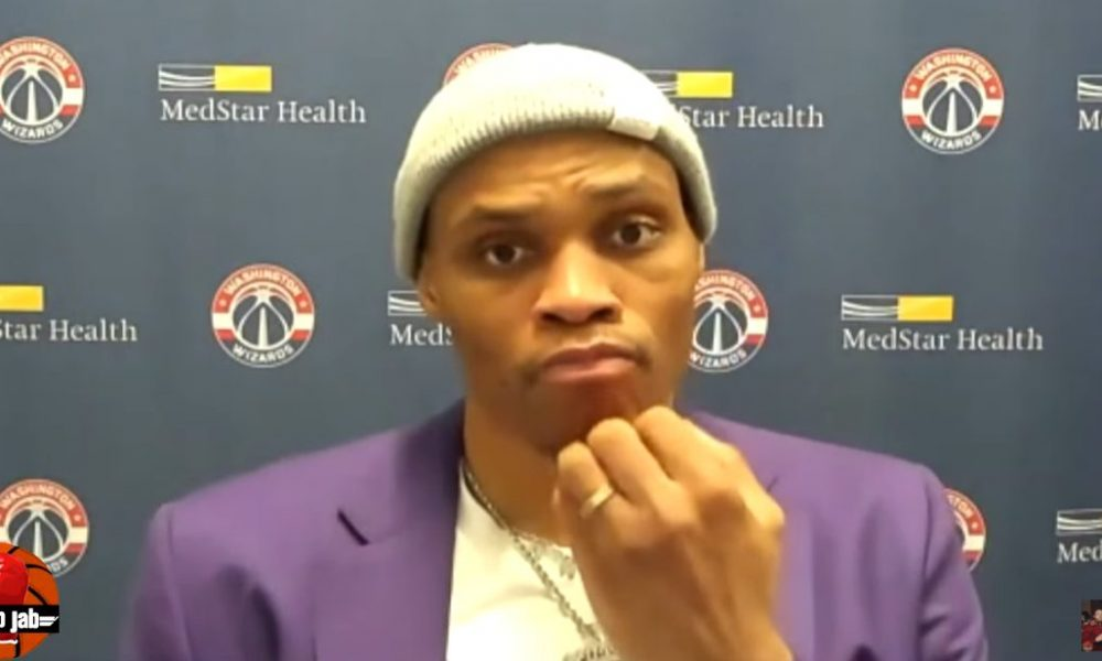 Russell Westbrook interview 9 mai 2021
