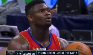 Zion Williamson 2 mai 2021