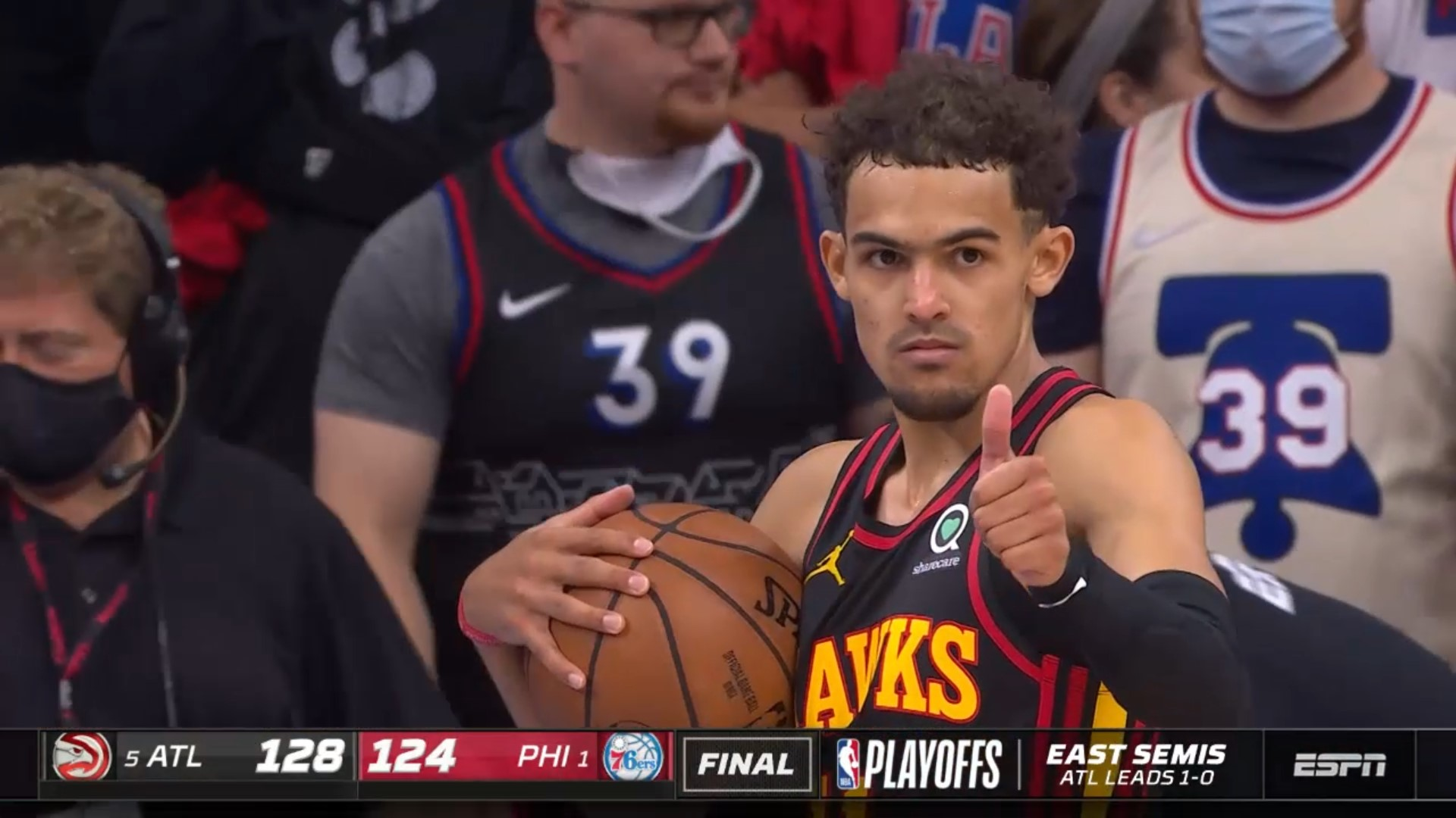 Trae Young 6 juin 2021