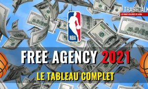 Free Agency 2021 Tableau Complet Couverture