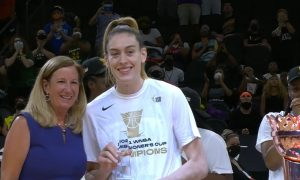 Breanna Stewart Seattle Storm Commissioner Cup