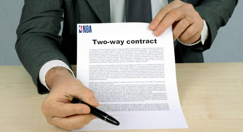Two-way contract